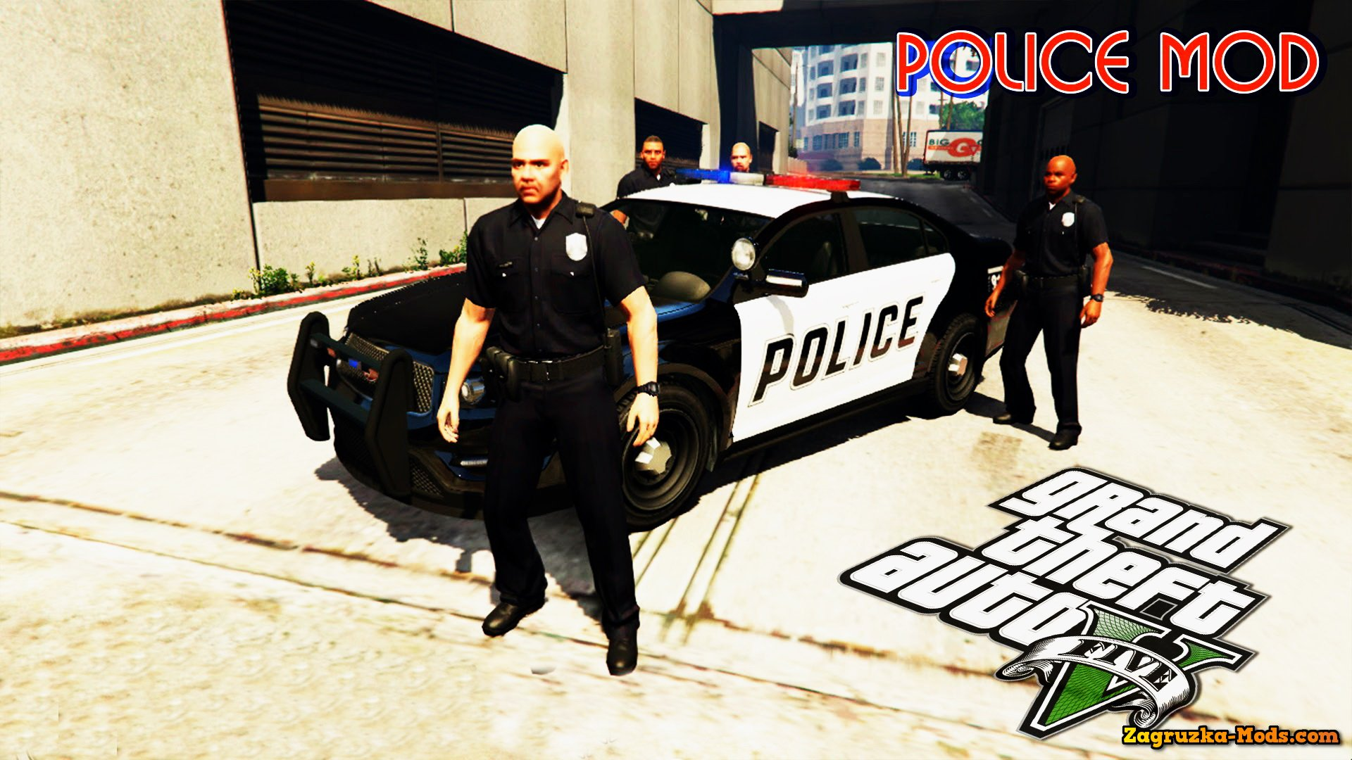 Overview of GTA V Police mode